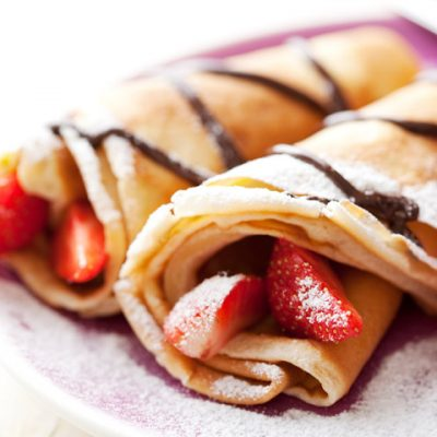 Home-made Crepes