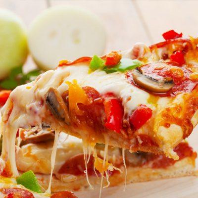 Crunchy Pizzas